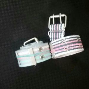 2 Aeropostale belts